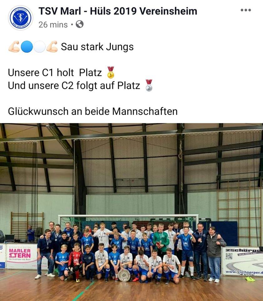 C-Jugend Stadtmeister 2020