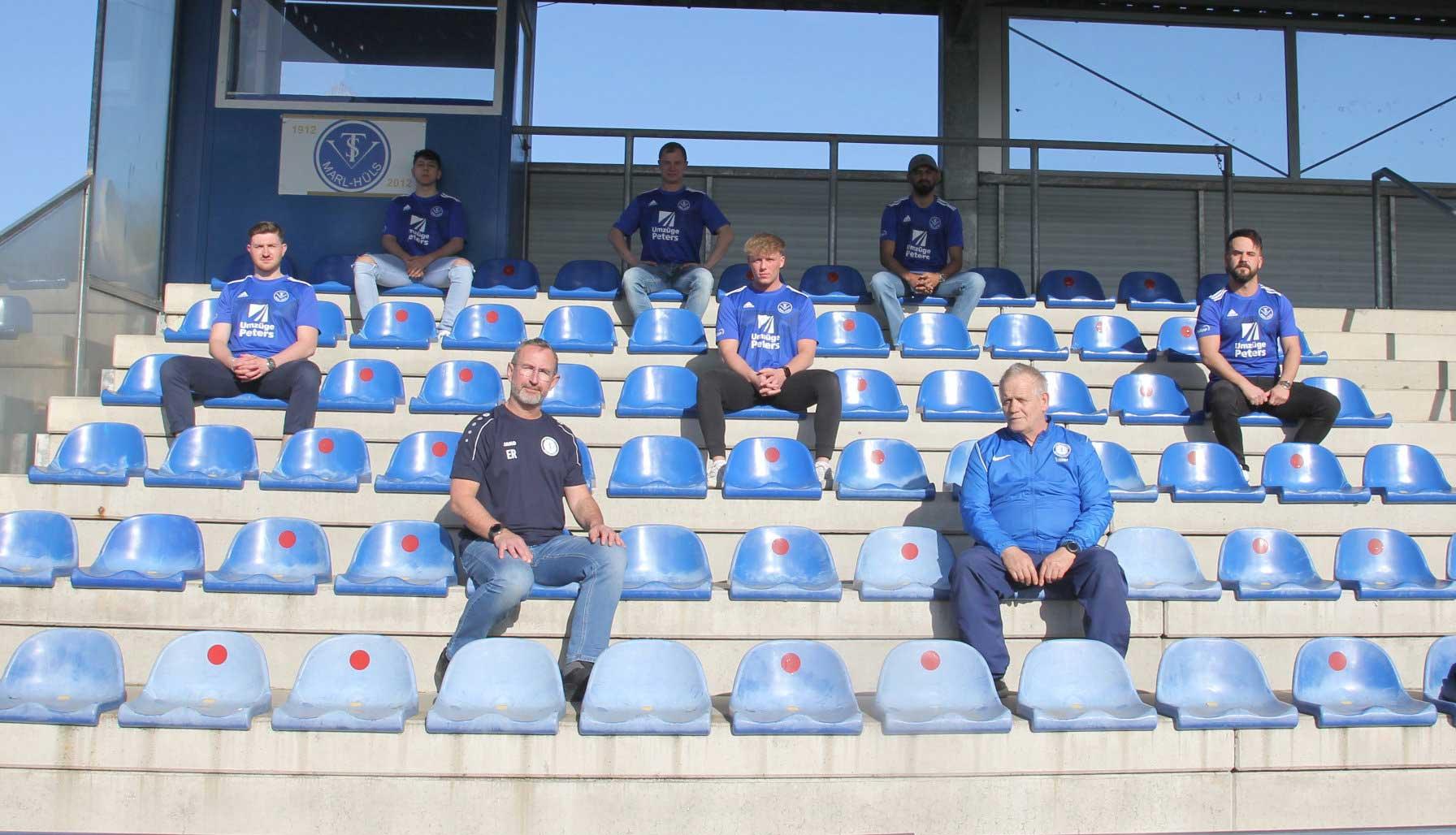 Der TSV Marl-Hüls hat die Weichen für die Saison 2021/22 in der Kreisliga B gestellt
